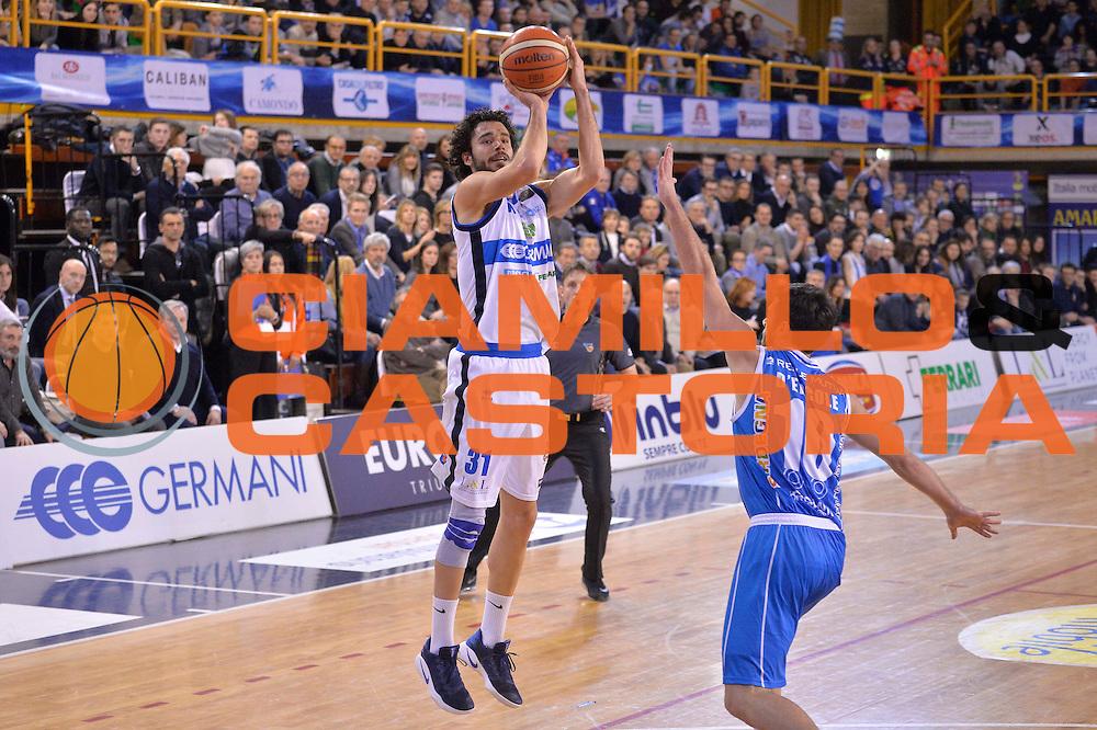 Michele Vitali<br /> Germani Basket Brescia Leonessa - Banco di Sardegna Dinamo Sassari <br /> Lega Basket Serie A 2016/2017<br /> Montichiari, 05/02/2017<br /> Foto Ciamillo-Castoria