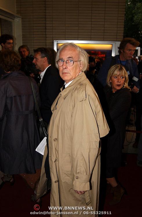 Opening Utrechts Filmfestival 2003, premiere Phileine zegt sorry, Wim Verstappen