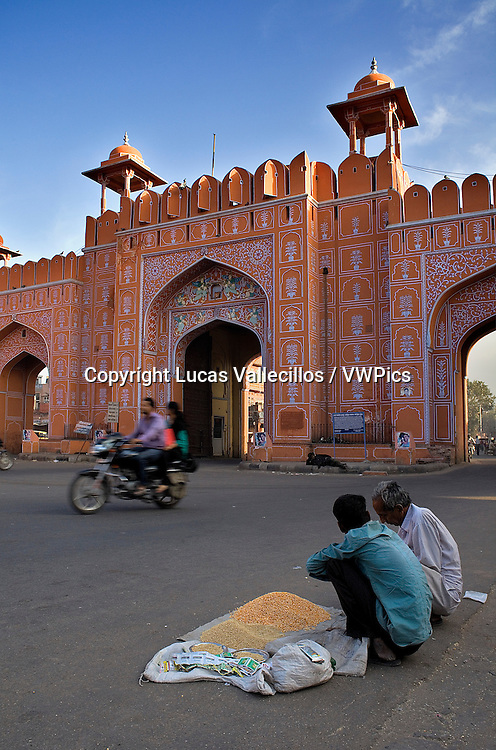 Ajmeri Gate. Jaipur. Rajasthan,India