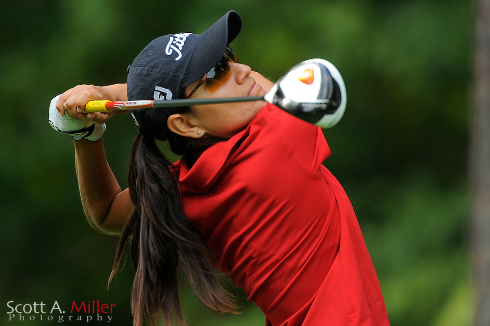 Eileen Vargas in action during the LPGA Futures Tour Eagle Classic at the Richmond Country Club on Aug. 13, 2011 in Richmond, Va...© 2011 Scott A. Miller