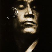 Portrait of former Dr. Feelgood guitarist Wilko Johnson