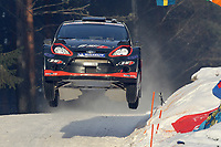 MOTORSPORT - WORLD RALLY CHAMPIONSHIP 2012 - RALLY SWEDEN / RALLYE DE SUEDE - 08 TO 12/02/2012 - KARLSTAD (SWE) - PHOTO : FRANCOIS BAUDIN /  DPPI - 10	SOLBERG Henning - MINOR Ilka / FORD FIESTA - WRC / Action