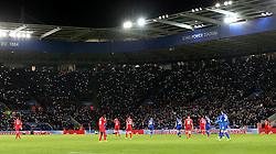 Leicester City fans shine lights and pay tribute to former manager Claudio Ranieri - Mandatory by-line: Robbie Stephenson/JMP - 27/02/2017 - FOOTBALL - King Power Stadium - Leicester, England - Leicester City v Liverpool - Premier League