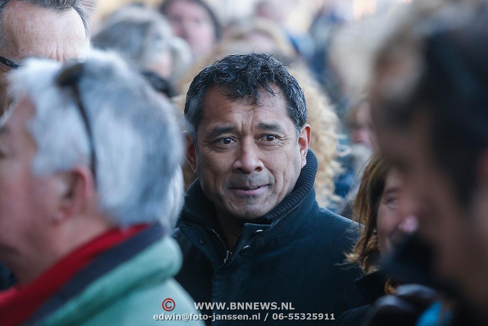 NLD/Amsterdam/20121208 - Herdenkingsdienst voor de verleden Jeroen Willems, Martin Schwab