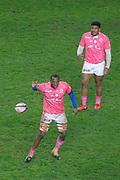 Sekou Macalou (Stade Francais), Jonathan DANTY (Stade Francais) during the French championship Top 14 Rugby Union match between Stade Francais Paris and Racing Metro 92 on December 3, 2017 at Jean Bouin stadium in Paris, France - Photo Stephane Allaman / ProSportsImages / DPPI