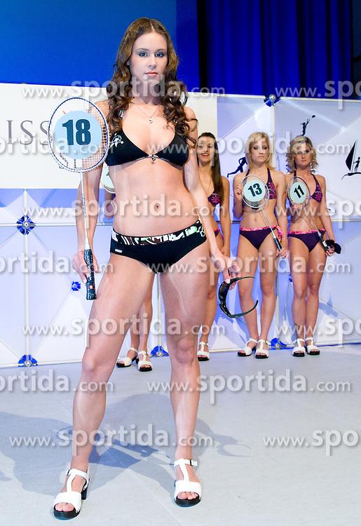 Amadeja Teraz at event Miss Sports of Slovenia, on April 18, 2009, in Festivalna dvorana, Ljubljana, Slovenia. (Photo by Ales Oblak / Sportida)