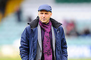 Exeter City manager Paul Tisdale before the Sky Bet League 2 match between Yeovil Town and Exeter City at Huish Park, Yeovil, England on 9 April 2016. Photo by Graham Hunt.