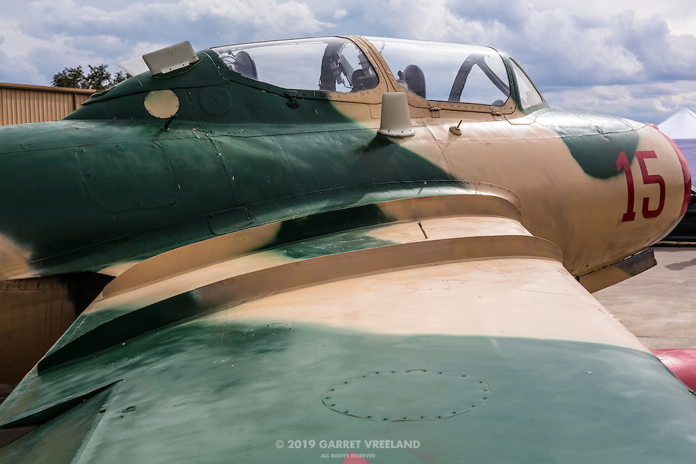 A legendary fighter jet. I believe these were countered by America's F100 Super Sabres.