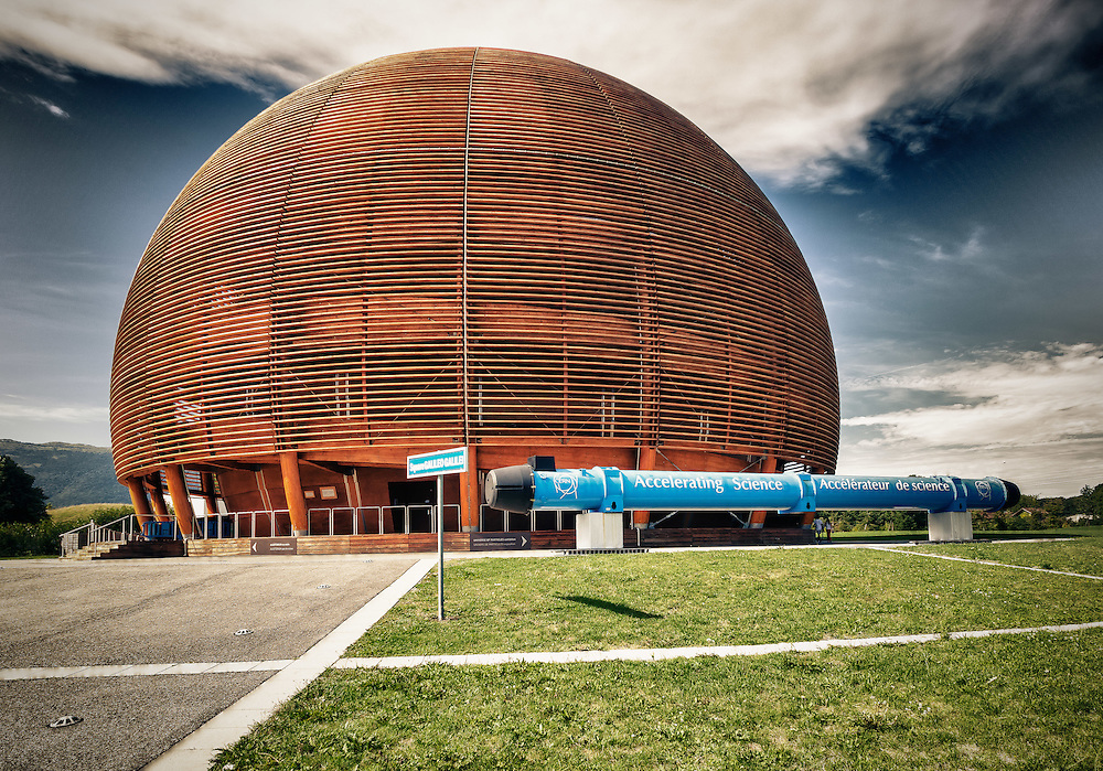 CERN, European Center of Nuclear Research, Globe of Science and Innovation, Meyrin, Switzerland