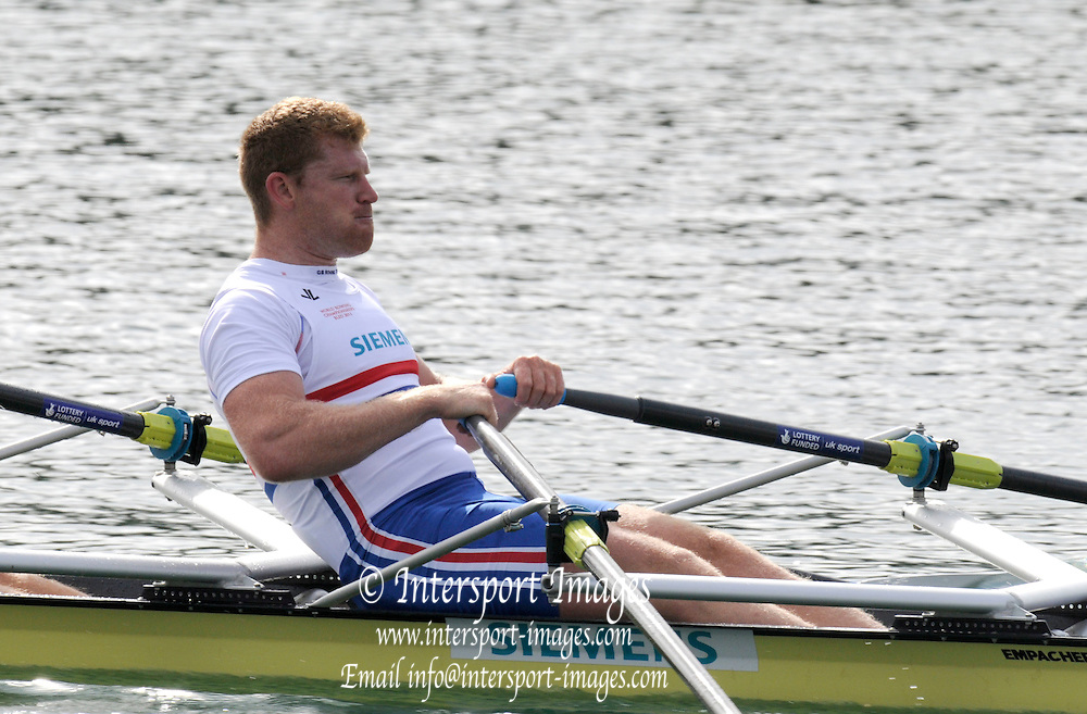 Reading, Great Britain,  GBR M2X. Matt WELLS.  2011 GBRowing World Rowing Championship, Team Announcement.  GB Rowing  Caversham Training Centre.  Tuesday  19/07/2011  [Mandatory Credit. Peter Spurrier/Intersport Images]