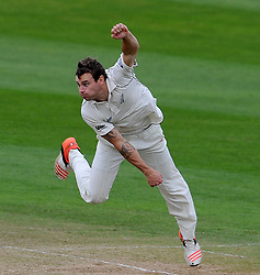 New Zealand's Doug Bracewell Photo mandatory by-line: Harry Trump/JMP - Mobile: 07966 386802 - 11/05/15 - SPORT - CRICKET - Somerset v New Zealand - Day 4 - The County Ground, Taunton, England.
