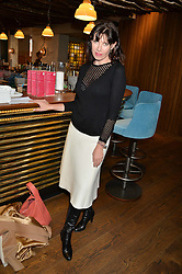 RONNIE ANCONA at a ladies lunch hosted by Thomasina Miers was held at her restaurant Wahaca, 19-23 Charlotte Street, London W1 on 10th January 2014.