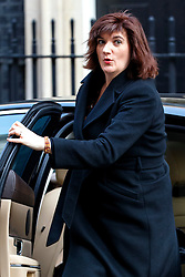 © Licensed to London News Pictures. 22/03/2016. London, UK. Education Secretary NICKY MORGAN attending a cabinet meeting in Downing Street on Tuesday, 22 March 2016. Photo credit: Tolga Akmen/LNP