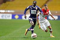 Yannick Ferreira Carrasco /   Sabaly Youssouf   - 21.01.2015 - Monaco / Evian Thonon   - Coupe de France 2014/2015<br />