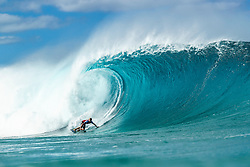December 16, 2018 - Pupukea, Hawaii, U.S. - Adrian Buchan (AUS) is eliminated from the 2018 Billabong Pipe Masters with an equal 25 finish after placing second in Heat 7 of Round 2. (Credit Image: © Kelly Cestari/WSL via ZUMA Wire)