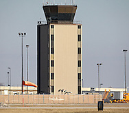 The  control tower at the Eastern Iowa Airport on Wednesday, January 23, 2013.