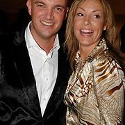 NLD/Amsterdam/20070307 - Modeshow Monique Collignon voorjaar 2007, Mickey Hoogendijk en goede vriend Sander Wiegers