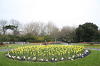 St Stephen's Green park in Dublin Ireland