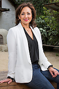 Clever Girls Collective Founder, President & Chief Evangelist Stefania Pomponi poses for a portrait at San Pedro Square Market in San Jose, California, on May 18, 2015. (Stan Olszewski/SOSKIphoto)
