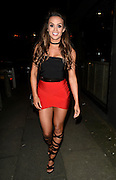 EXCLUSIVE<br /> Ex on the beach stars Laura Alisha Summers with Ali drew at  j sky at panacea in manchester <br /> ©Exclusivepix Media