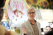 Perfumer Ralf Schwieger, of Mane, discusses his new scents for spring at the 2016 Macy's Flower Show Scent event at Herald Square, Monday, March 21, 2016, in New York.  (Diane Bondareff/AP Images for Macy's Inc.)