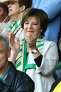 Picture by Paul Chesterton/Focus Images Ltd.  07904 640267.13/05/12.Norwich City's Joint Majority Shareholder Delia Smith before the Barclays Premier League match at Carrow Road Stadium, Norwich.