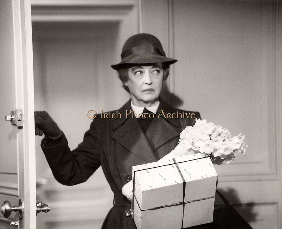 Bette Davis (1908-1989) American actress and Hollywood film star in 'The Nanny', Hammer Films, 1965.
