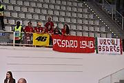 DESCRIZIONE : Trento Lega A 2015-16 Dolomiti Energia Trentino - Consultinvest Pesaro<br /> GIOCATORE : Consultinvest Pesaro<br /> CATEGORIA : Tifosi<br /> SQUADRA : Dolomiti Energia Trentino - Consultinvest Pesaro<br /> EVENTO : Campionato Lega A 2015-2016 <br /> GARA : Dolomiti Energia Trentino - Consultinvest Pesaro<br /> DATA : 08/11/2015 <br /> SPORT : Pallacanestro <br /> AUTORE : Agenzia Ciamillo-Castoria/Giulio Ciamillo<br /> Galleria : Lega Basket A 2015-2016 <br /> Fotonotizia : Trento Lega A 2015-16 Dolomiti Energia Trentino - Consultinvest Pesaro