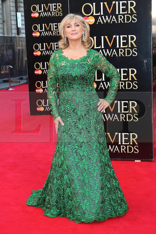 © Licensed to London News Pictures. 13/04/2014, UK. Lesley Garrett, The Laurence Olivier Awards, Royal Opera House, London UK, 13 April 2014. Photo credit : Richard Goldschmidt/Piqtured/LNP