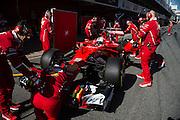 March 7-10, 2017: Circuit de Catalunya. Sebastian Vettel (GER), Scuderia Ferrari, SF70H