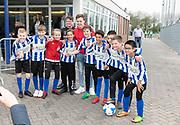 2019, April 17. IJFC, IJsselstein, The Netherlands. Robbie van der Graaf at Creators FC - IJFC Legends.