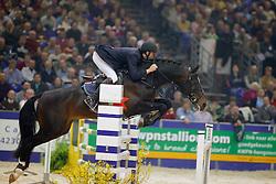 Van Asten Mathijs-No Limit<br /> KWPN hengstenkeuring 2004<br /> Photo © Hippo Foto