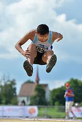 06/08/2017; Palacio, Rolando Ezequiel, T11, ARG at 2017 World Para Athletics Junior Championships, Nottwil, Switzerland