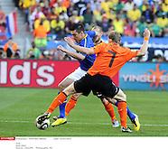 2010 World Cup Quarter Final - Netherlands vs Brazil
