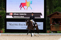 Valenta Oliver (AUT) - Valenta's Rivel<br /> FEI European Dressage Championship Juniors - Bern 2012<br /> © Hippo Foto - Leanjo de Koster