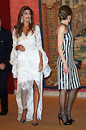 022317 Spanish Royals Host a Reception For President of Argentina