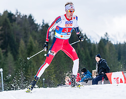 02.03.2019, Seefeld, AUT, FIS Weltmeisterschaften Ski Nordisch, Seefeld 2019, Nordische Kombination, Langlauf, Team Bewerb 4x5 km, im Bild Espen Bjoernstad (NOR) // Espen Bjoernstad of Norway during the Cross Country Team competition 4x5 km of Nordic Combined for the FIS Nordic Ski World Championships 2019. Seefeld, Austria on 2019/03/02. EXPA Pictures © 2019, PhotoCredit: EXPA/ Stefan Adelsberger