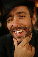 British Singer Charlie Winston, in Paris