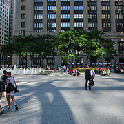 Street scene. Chicago, IL. United States.