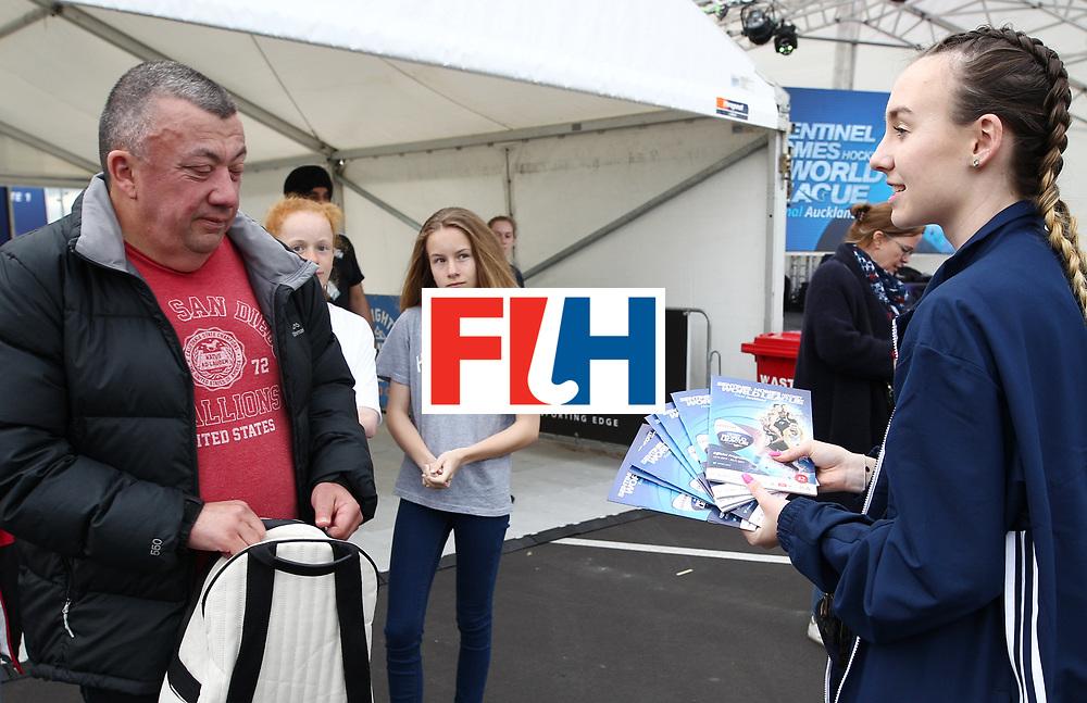 New Zealand, Auckland - 17/11/17  <br /> Sentinel Homes Women&rsquo;s Hockey World League Final<br /> Harbour Hockey Stadium<br /> Copyrigth: Worldsportpics, Rodrigo Jaramillo<br /> Match ID: 10291 - USA vs KOR<br /> Photo: