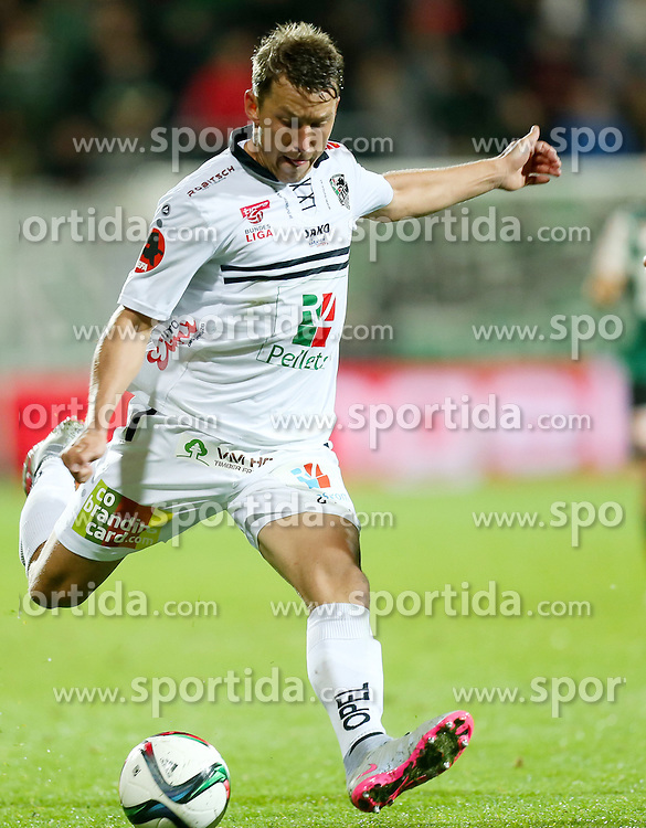 23.09.2015, Keine Sorgen Arena, Ried, AUT, OeFB Samsung Cup, SV Josko Ried vs RZ Pellets WAC, 2. Runde, im Bild Christopher Wernitznig (WAC) // during OeFB Cup, 2nd round Match between SV Josko Ried and RZ Pellets WAC at the Keine Sorgen Arena, Ried, Austria on 2015/09/23. EXPA Pictures © 2015, PhotoCredit: EXPA/ Roland Hackl