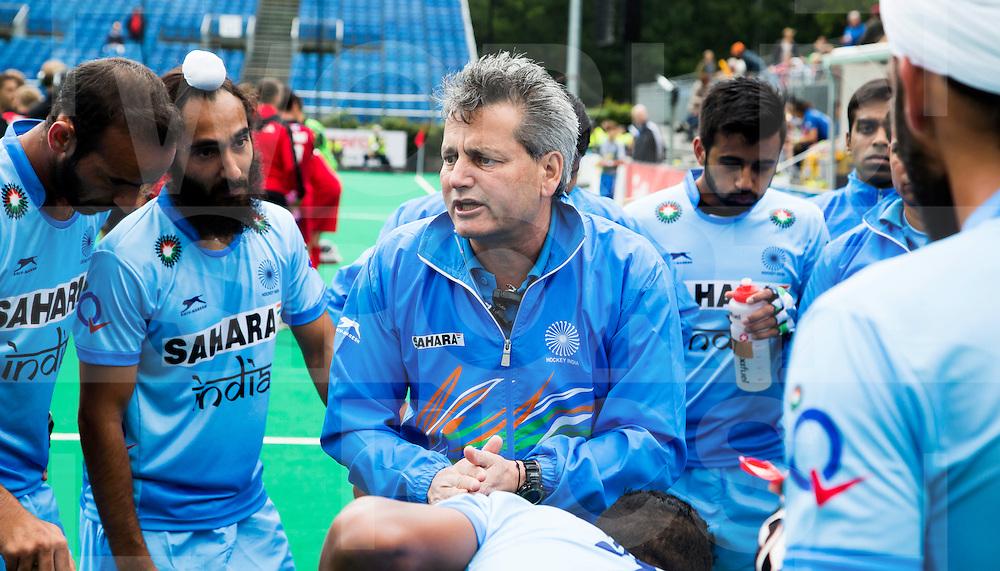ANTWERP -    India coach Paul van Ass during  the match India v Poland (3-0)  WSP COPYRIGHT KOEN SUYK