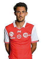 Hugo Rodriguez of Reims during the photocall of Reims for new season of Ligue 2 on September 29th 2016 in Reims<br /> Photo : Stade de Reims / Icon Sport
