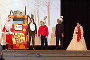 "Over 50 Helms ES students formed the all-star cast for the ""Phineas and Ferb 17 Days of Christmas"" bilingual musical held at Reagan High School. Family and friends joined us for this magical evening. In additional to the musical, fifth-graders in the Creative Media program premiered their ""Colonization of America"" movie. The movie will be airing on HISD TV this winter break. <br />