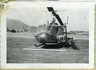 B Troop gunship. 1st Squadron, 9th Cavalry, 1965.