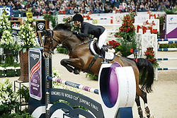 Alexander Edwina, (AUS), Caretina de Joter<br /> Longines FEI World Cup Final 1 - Goteborg 2016<br /> <br /> © Hippo Foto - Dirk Caremans<br /> 25/03/16