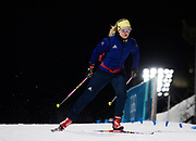PYEONGCHANG-GUN, SOUTH KOREA - FEBRUARY 20: Mona Brorsson of Sweden ahead of the Biathlon 2x6km Women + 2x7.5km Men Mixed Relay at Alpensia Biathlon Centre on February 20, 2018 in Pyeongchang-gun, South Korea. Foto: Nils Petter Nilsson/Ombrello                    ***BETALBILD***