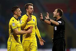 Bristol Rovers players appeal to the referee for a handball - Mandatory by-line: Matt McNulty/JMP - 28/02/2017 - FOOTBALL - Macron Stadium - Bolton, England - Bolton Wanderers v Bristol Rovers - Sky Bet League One
