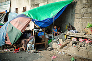 Philippines, Metro Manila. Squatter area in Bicutan.