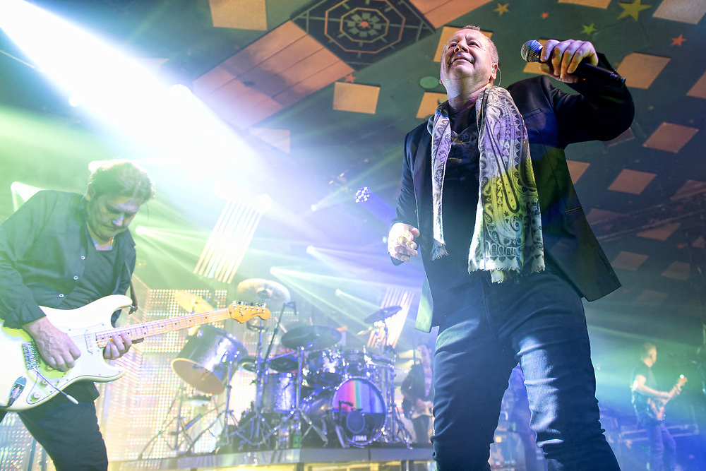 Simple Minds in concert at Barrowland Ballroom Glasgow, Great Britain 13th February 2018